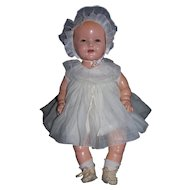 """Composition Baby Shirley Temple Doll - 19"""""""