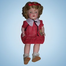 Composition Kiddie Pay Doll with original tag