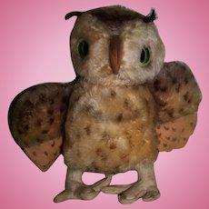 Vintage German Steiff Wittie Owl