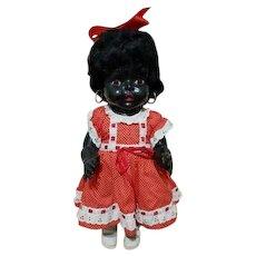 Australian Hard Plastic Black Peerless Doll - Circa 1950's