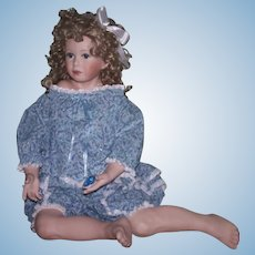 """Donna RuBert """"Mandy"""" - Fabulous artist made doll in large size"""