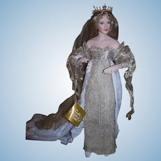 Guinevere from Camelot - Hard to find Franklin Heirloom Doll