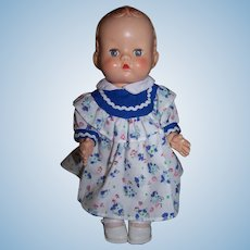 "Delightful English Pedigree ""Grump"" Doll - 10"" Height"