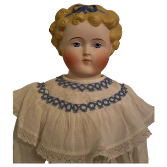 German Parian Dolly Madison 24 inches