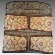 French 1890's Glove Bag