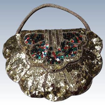 1920's Sequine Flapper evening bag