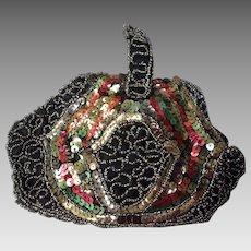 1920's sequin & Beadwork evening bag