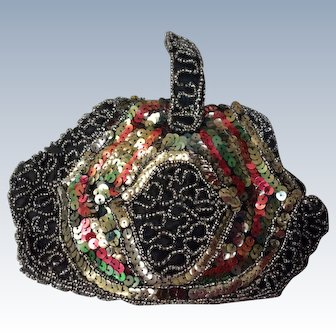 1920's sequin & Beadwork evening bag