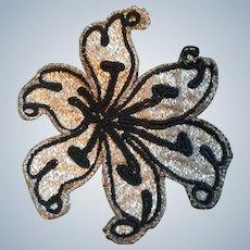 19th Century Silver Work Appliqué