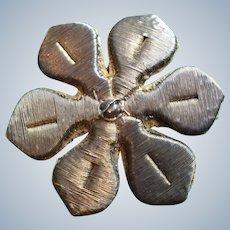 19th Century Silver /gold Work Appliqué