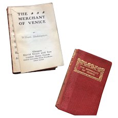 Miniature Book Shakespeare Merchant of Venice