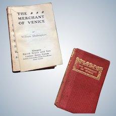 Miniature Book Shakespeare Merchant of Venice