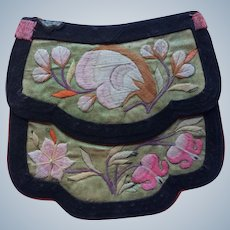 19th century Chinese pouch purse