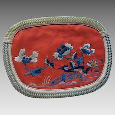19th Chinese embroidered Pouch