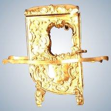 Victorian Pin Cushion Sudan Chair