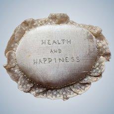 Victorian Pin Cushion Health & Happiness