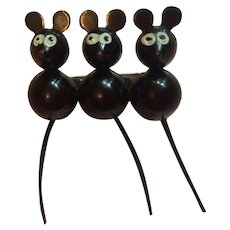 1920's 1930's Mickey Mouse brooch