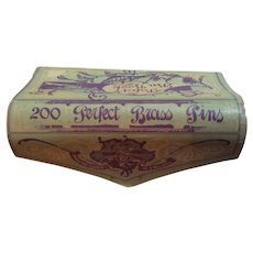 1920's 200 Brass Pins