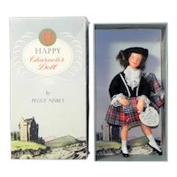 Vintage Peggy Nisbet Happy Character Scottish Doll with Box