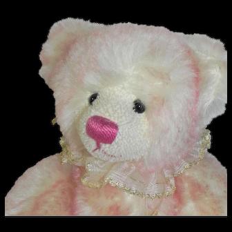 Grisly Germany Pink Mohair Teddy Bear