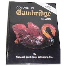 Colors in Cambridge Glass Book