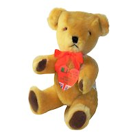 Dean's English Plush Jointed Teddy Bear 12 Inches