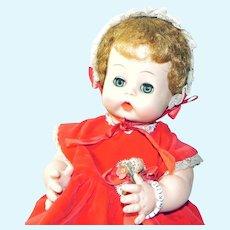 Vintage Effanbee Twinkie Doll with Bracelet 1959