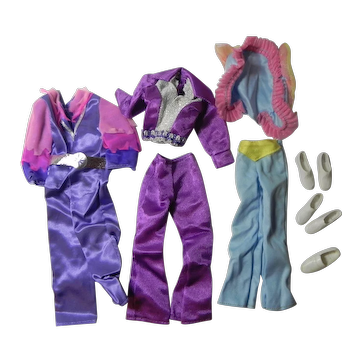 Vintage Montgomery Ward Ken Doll Outfits with Box 1976 For Evening Wear