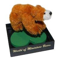 Miniature Teddy Bear Ingmar Eleonore Unkel Schauffelin