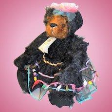 Ginger Brame Artist Mohair Teddy Bear Ellen Edith 12 inches