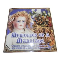 Memories of a Marriage Wedding Dolls Book by Florence Theriault