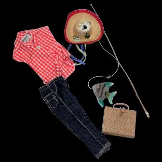 Vintage Barbie Picnic Set #967
