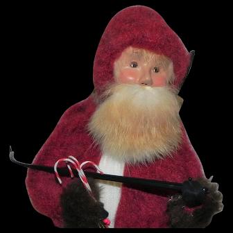 Byer's Caroler Belsnickel Santa Claus Doll 1998