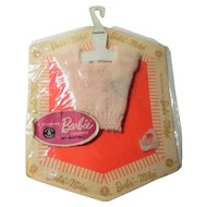 Vintage Barbie Pink Pak Sweater on Original Card