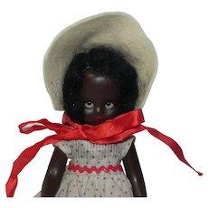 Vintage Nancy Ann Storybook Black Topsy Doll