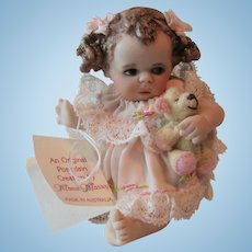 """Maree Massey Almost Real """"Chica"""" 3-inch Porcelain Doll"""