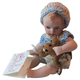 "Maree Massey Almost Real ""Chicko"" 3-inch Porcelain Doll"