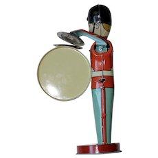 1940s Tin Windup Toy Musician