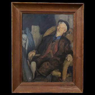 Old Ed Harrington by Edmund Ward