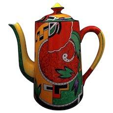 "Art Deco Royal Winton ""JAZZ"" Coffee pot"