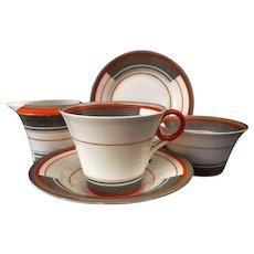Art Deco Shelley Tea for 1 Set