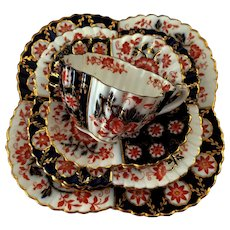 Antique Wileman part Teaset Tea for 2