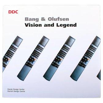 BANG & OLUFSEN - Vision and Legend, book by Jens Bang and Jørgen Palshøj, 2001 - MINT still in plastic cover!