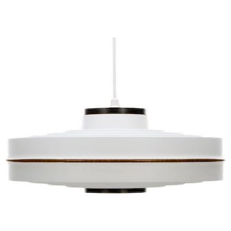 APOLLO white pendant light by Lars Schioler Hoyrup Light 1960