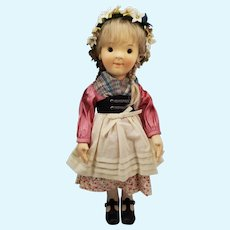 2008 R. JOHN WRIGHT Katharina Steiff Kinder Boy Doll