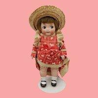 "6 3/4"" Antique German All Bisque Googly Doll"