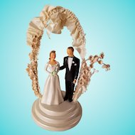 1950's JPG John Glenn Fancy Wedding Cake Topper