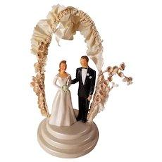 1950's JPG John Glenn Fancy Wedding Cake Topper