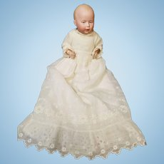 """The Sweetest 8"""" Antique German Swaine & Co """"DI"""" Size 1 Baby Doll w/Intaglio Eyes"""