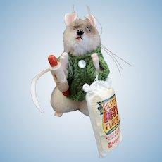 Dressed Tagged STEIFF FAO Schwarz PIEPS Baking Mouse